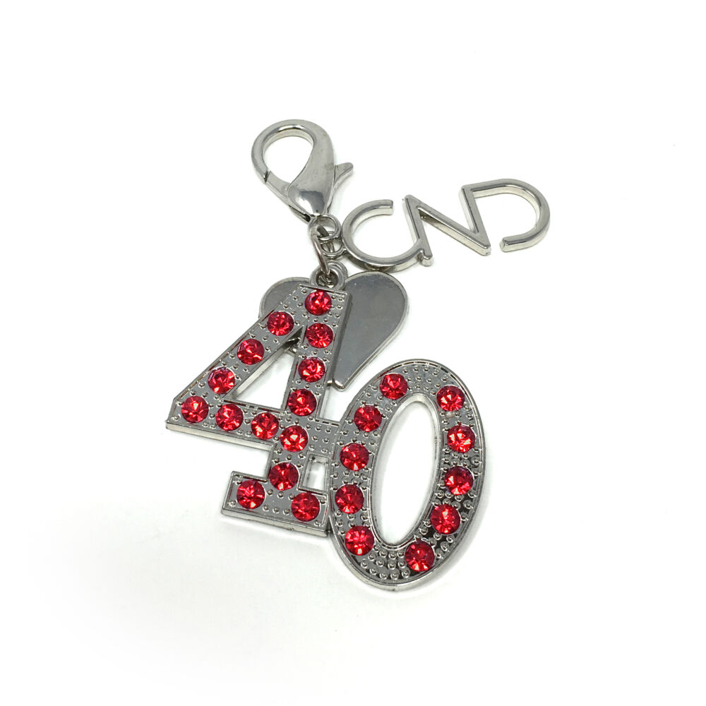 CND 40. Évforduló Kulcstartó