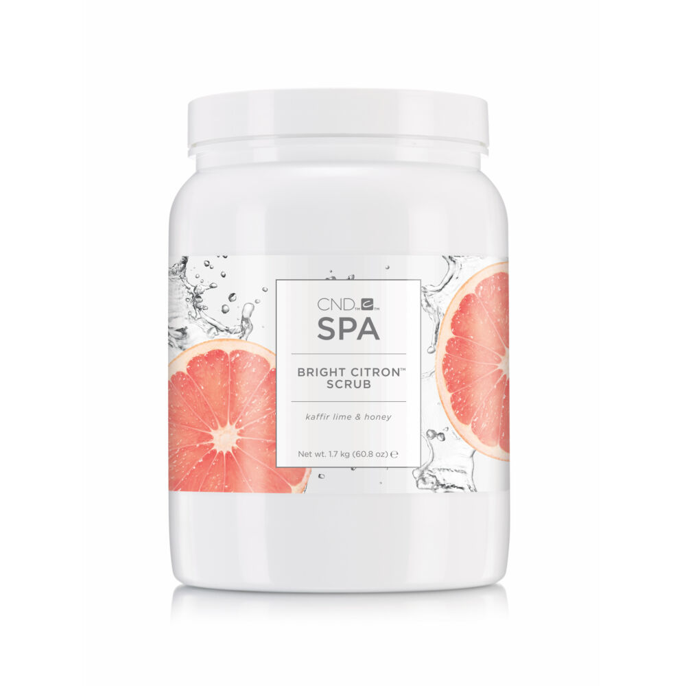 CND SPA Bright Citron™ scrub - radír 1.7 kg