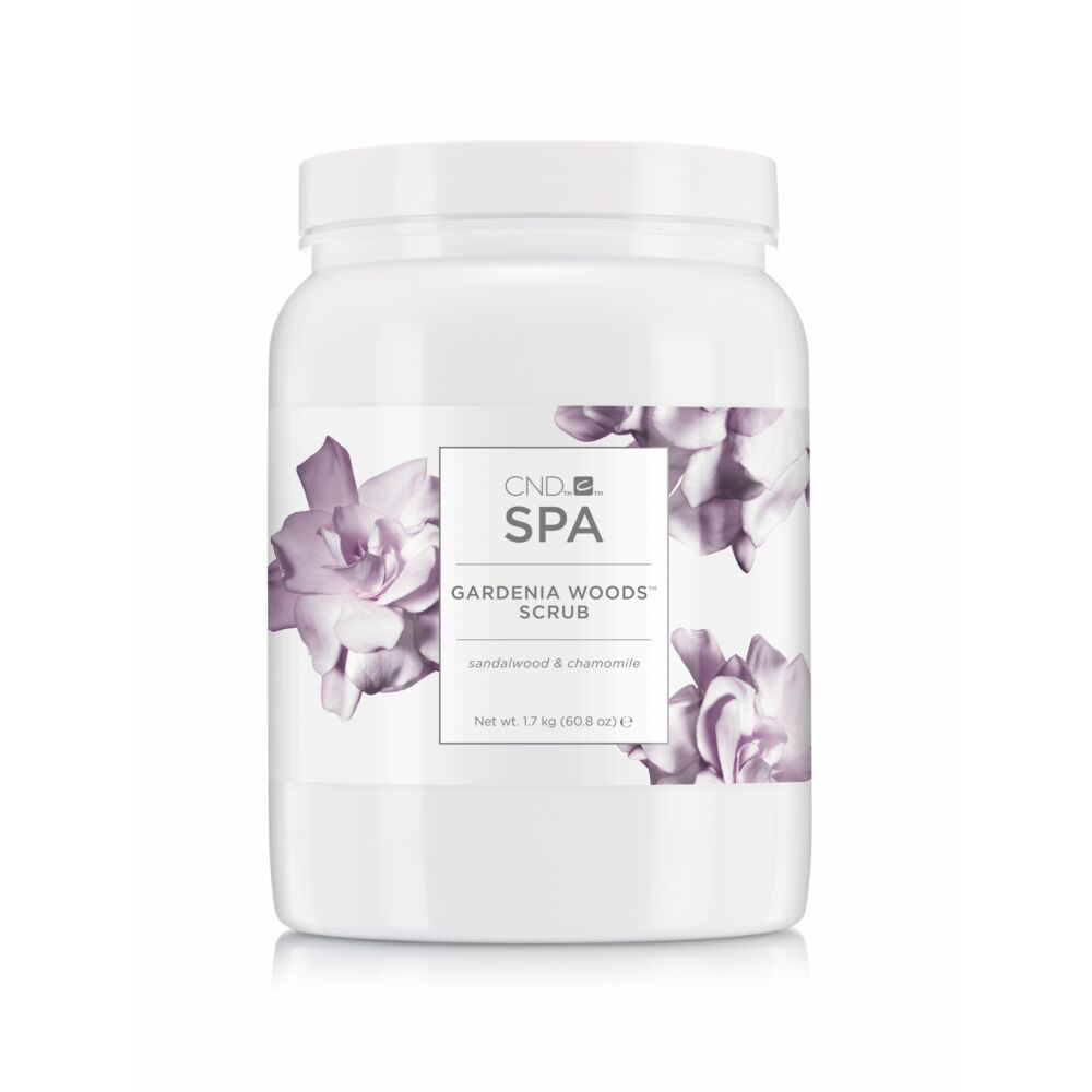 CND SPA Gardenia Woods™ scrub - radír 1.7kg