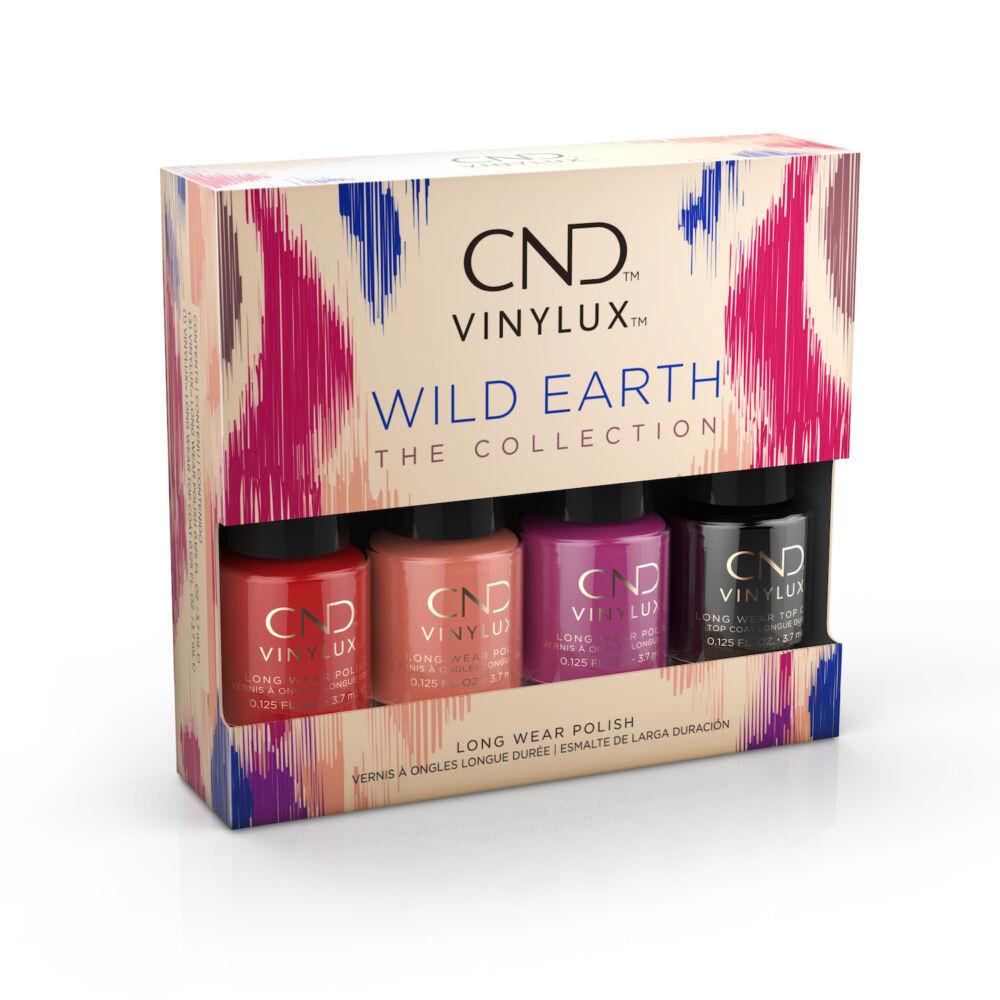 CND Vinylux Wild Earth Pinkies