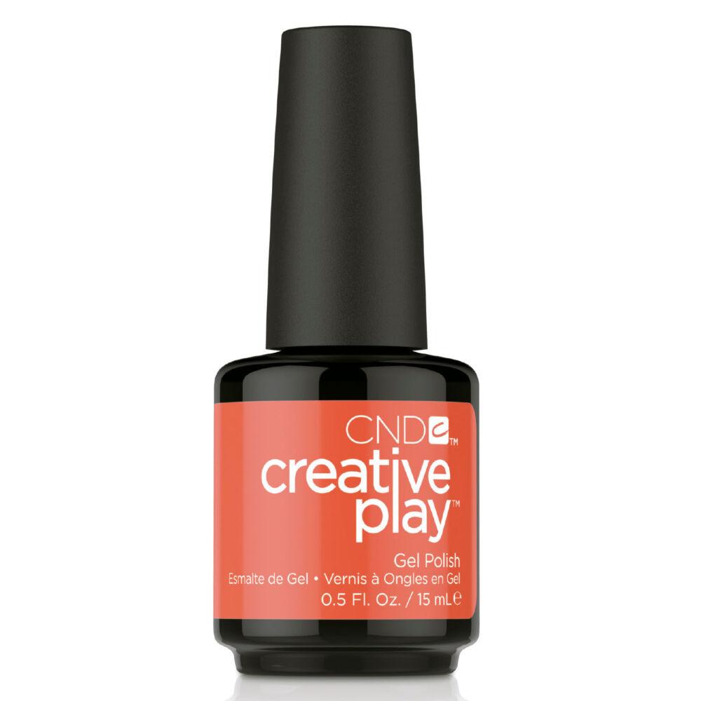 Creative Play Gel Polish gél lakk #499 Tangerine Rush 15 ml