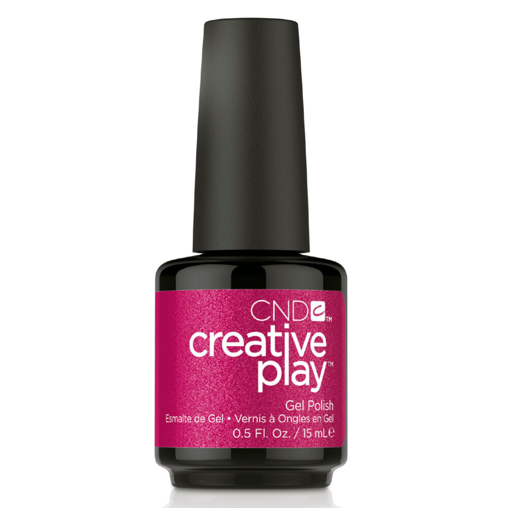 Creative Play Gel Polish #496 Cherry Glo Round 15 ml