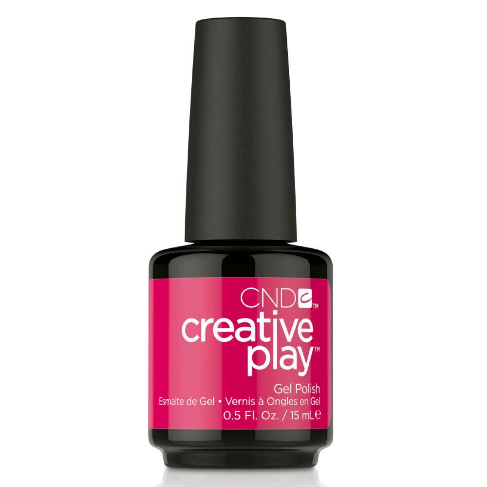 Creative Play Gel Polish gél lakk #500 Fuchsia Fling 15 ml