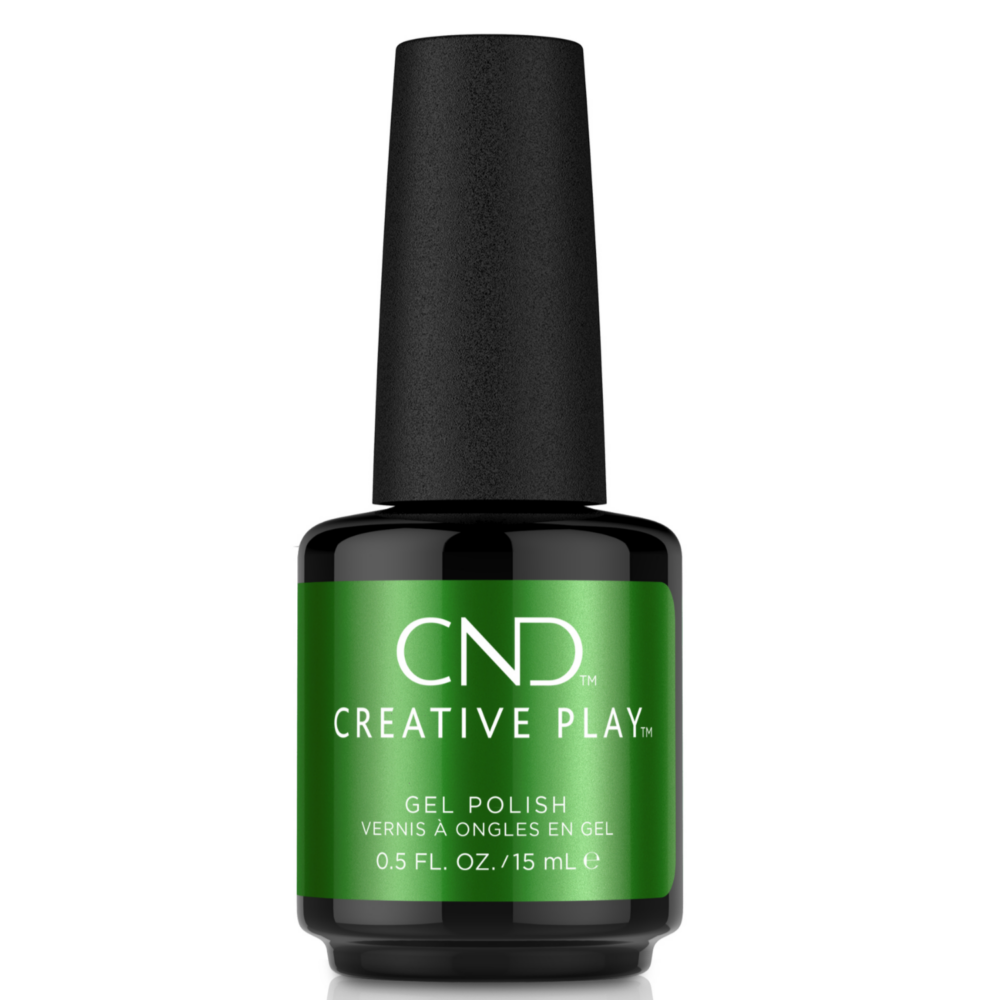 Creative Play Gel Polish gél lakk #524 Green Scream 15 ml