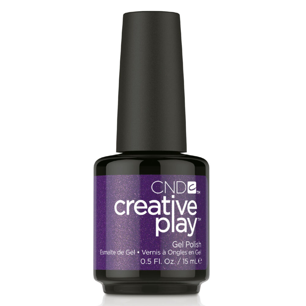 Creative Play Gel Polish gél lakk #455 Miss Purplelarity 15 ml