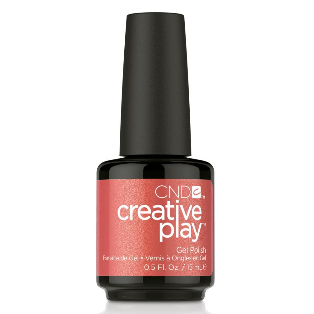 Creative Play Gel Polish gél lakk #419 Persimmon Ality 15 ml