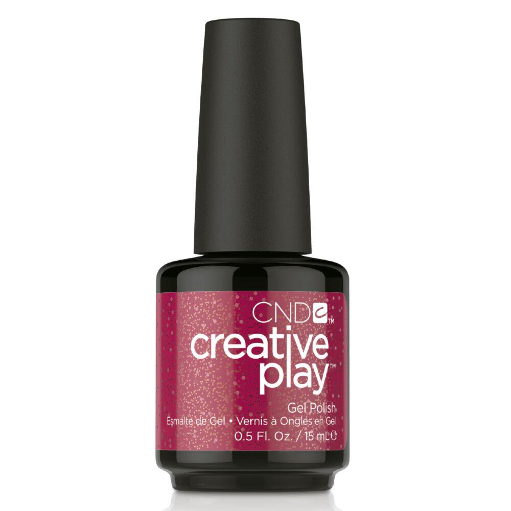 Creative Play Gel Polish gél lakk #486 Revelry Red 15 ml