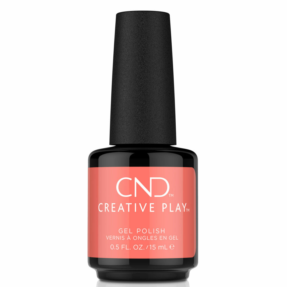 Creative Play Gel Polish gél lakk #405 Jammin' Salmon 15 ml