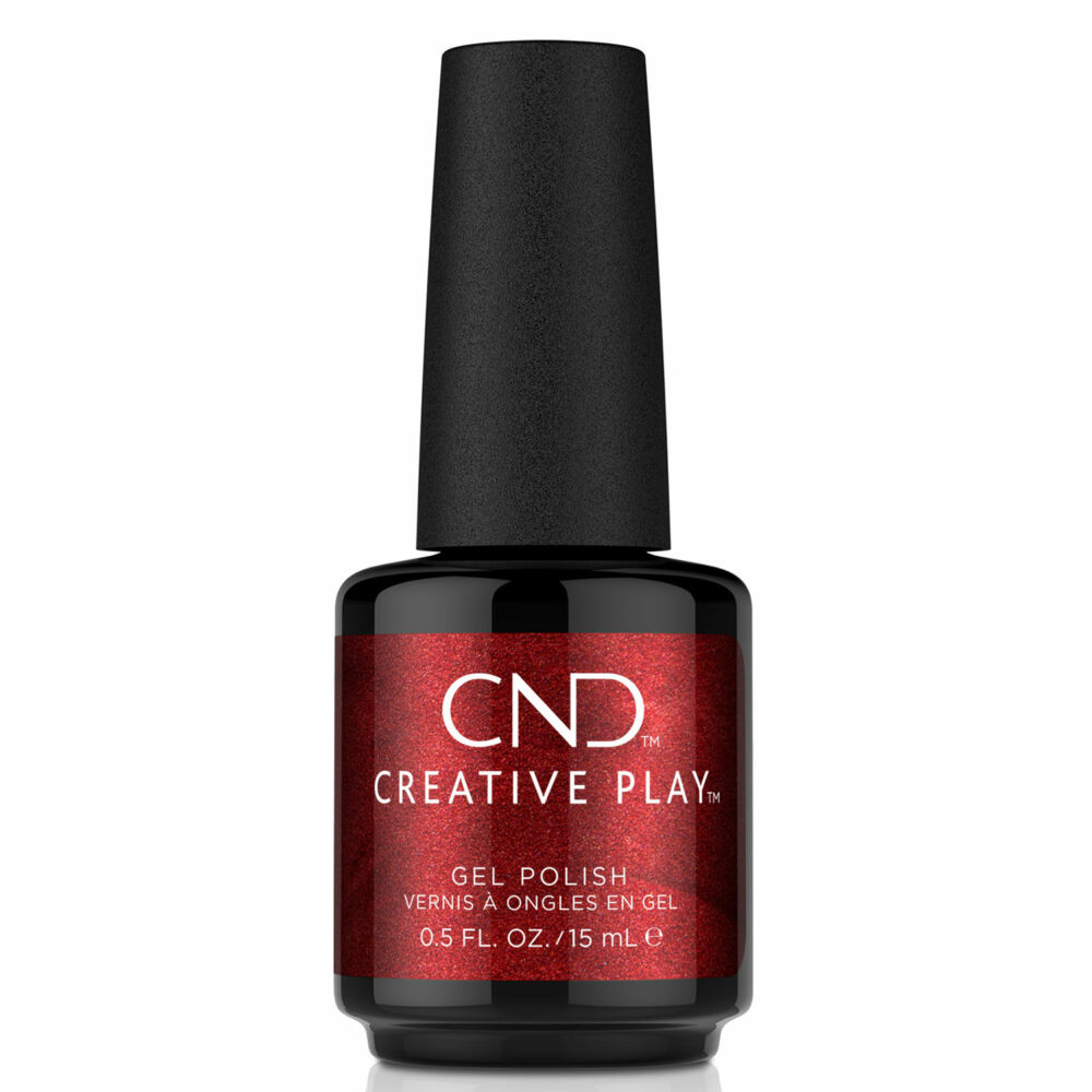 Creative Play Gel Polish gél lakk #415 Crimson Like It Hot 15 ml