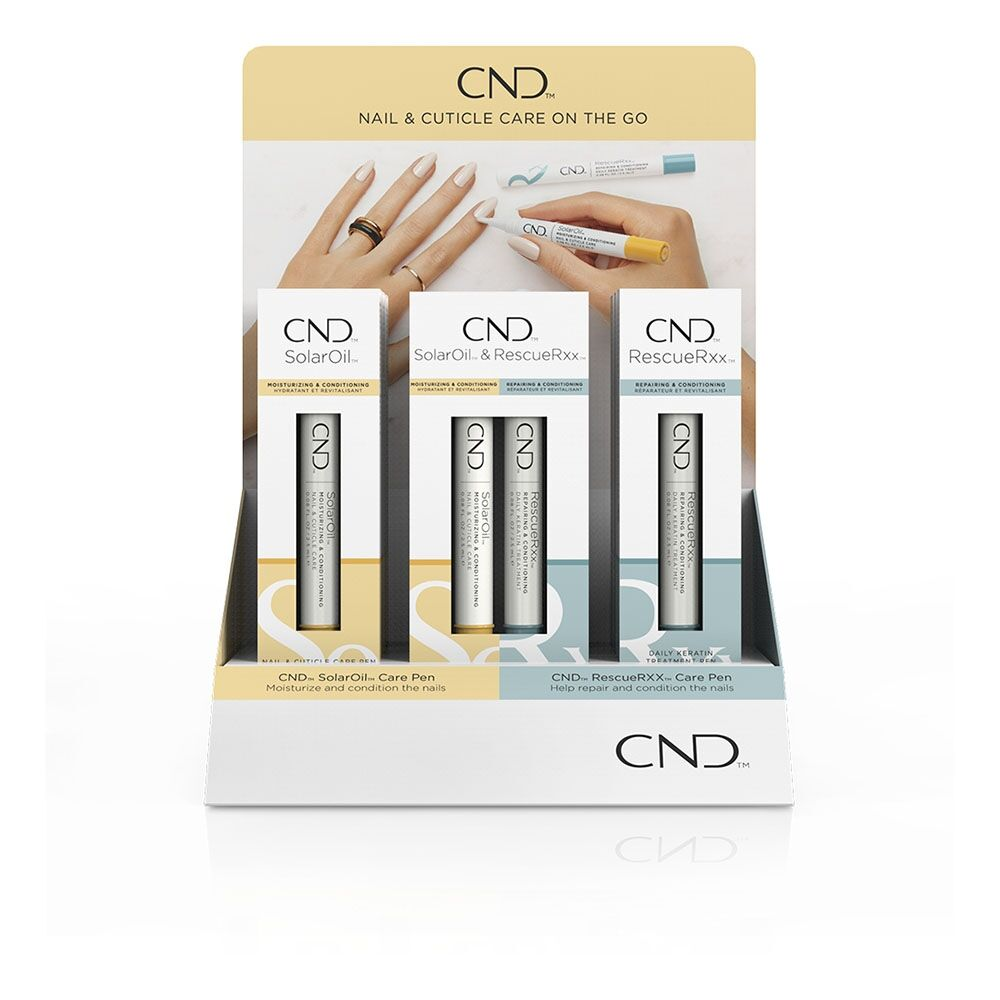 CND Essentials Care Pen Display