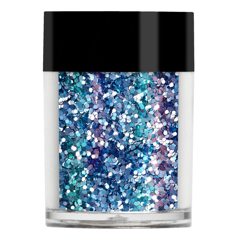 Lecenté Aquamarine Chunky Glitter
