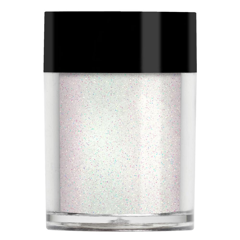 Lecente Golden White Micro Iridescent Glitter