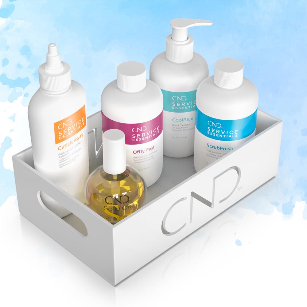 CND Tálca kiegészítő termékekkel