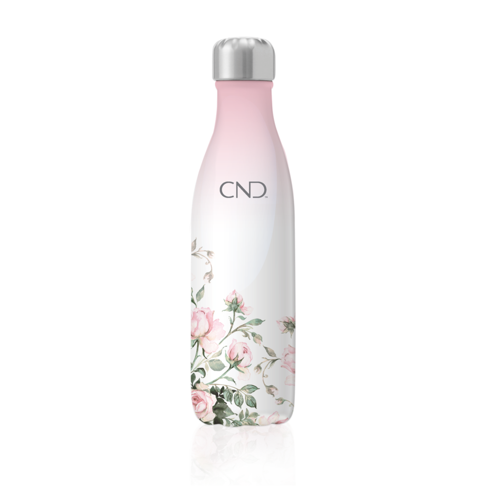 CND Thermo palack English Garden grafikával