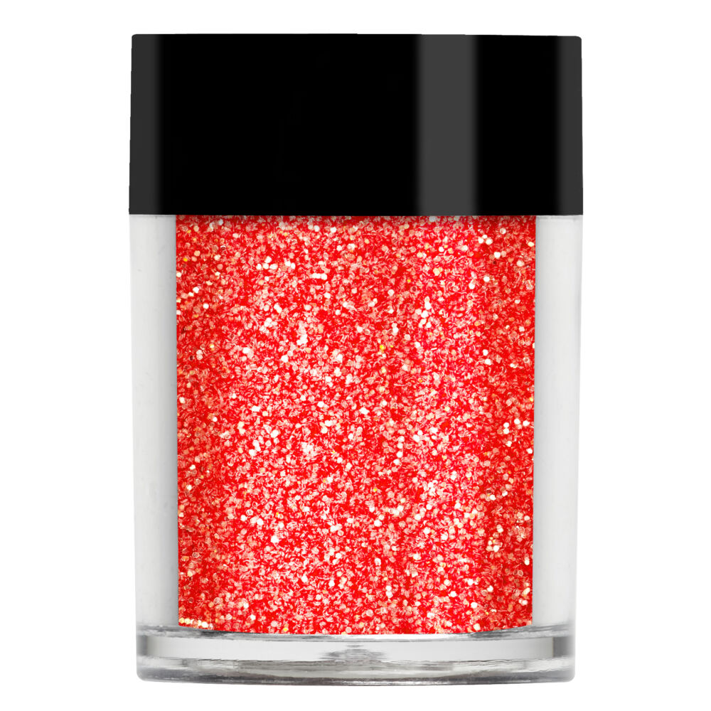 Lecenté Red Apple Iridescent Glitter