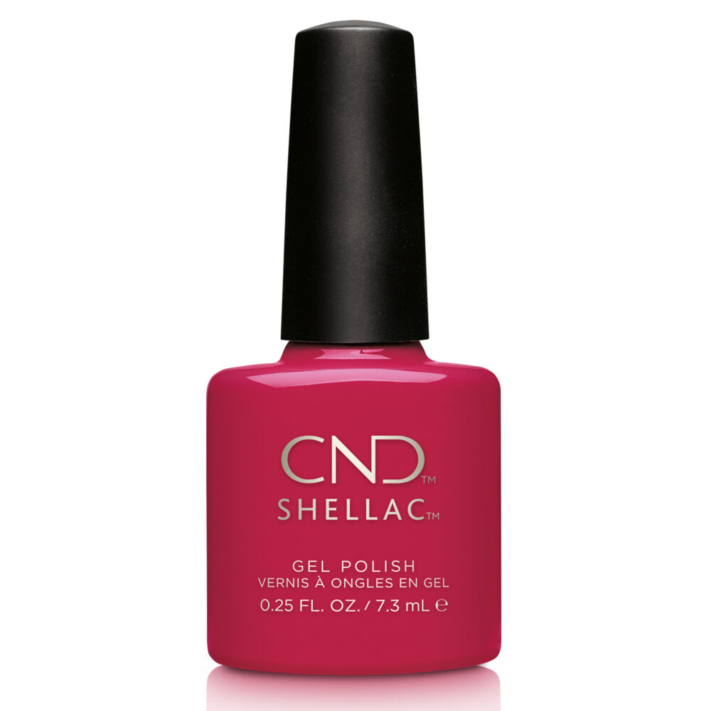 CND Shellac Rose Brocade