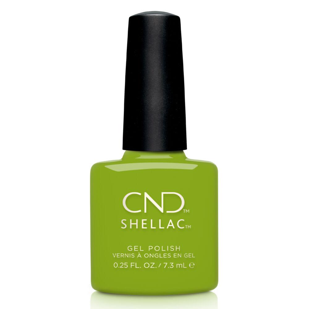 CND Shellac Crisp Green #363
