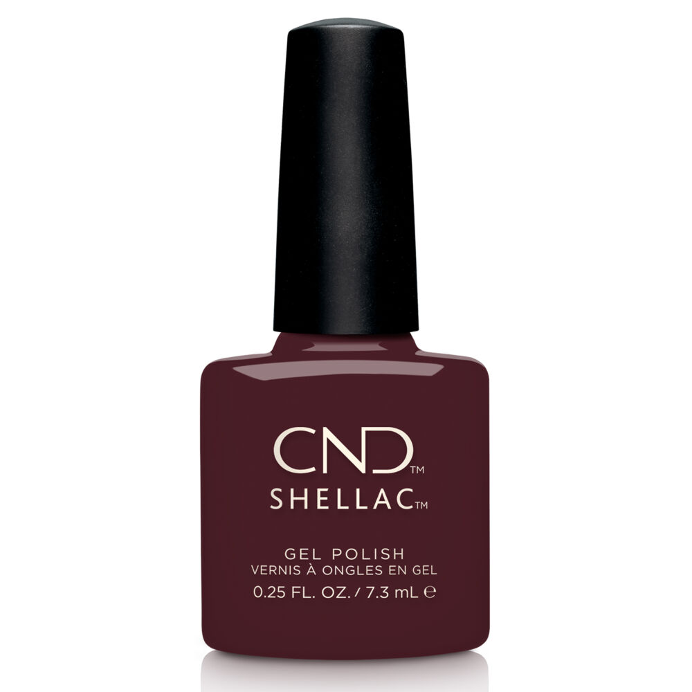 CND Shellac Black Cherry