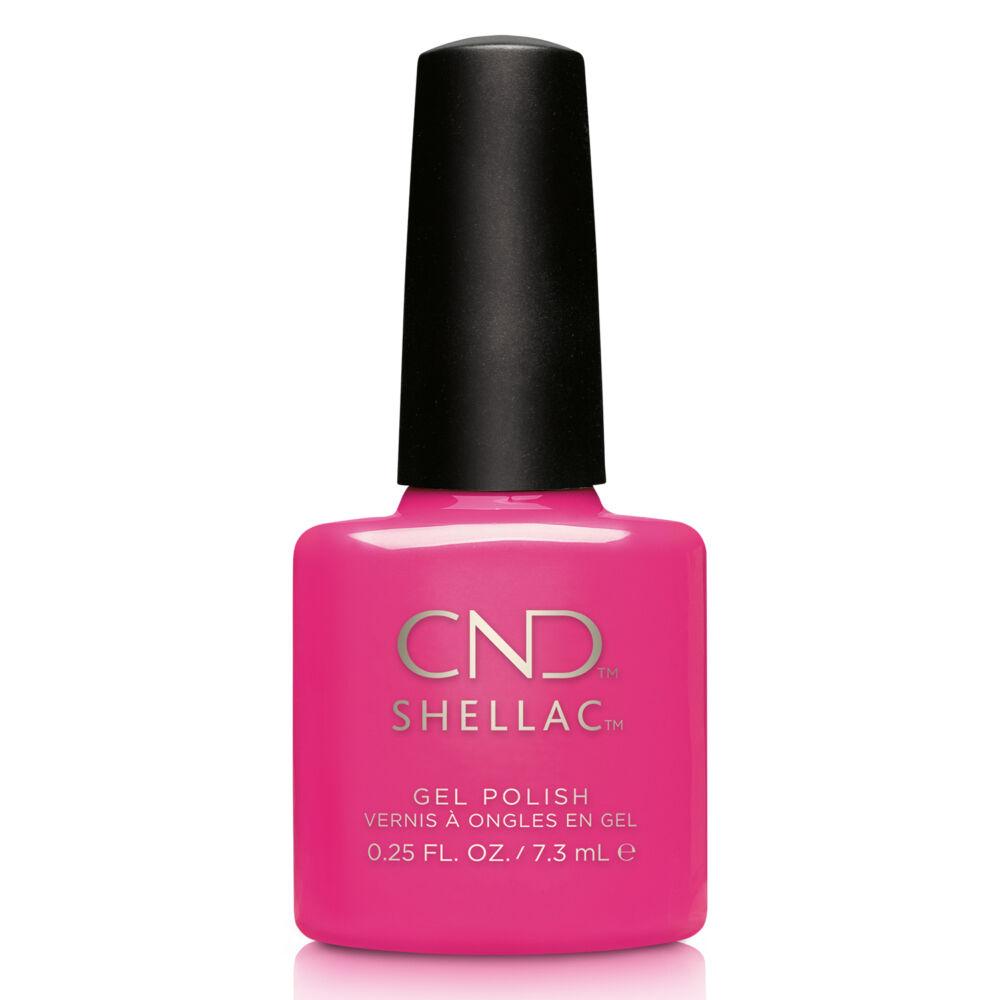 CND Shellac Hot Pop Pink
