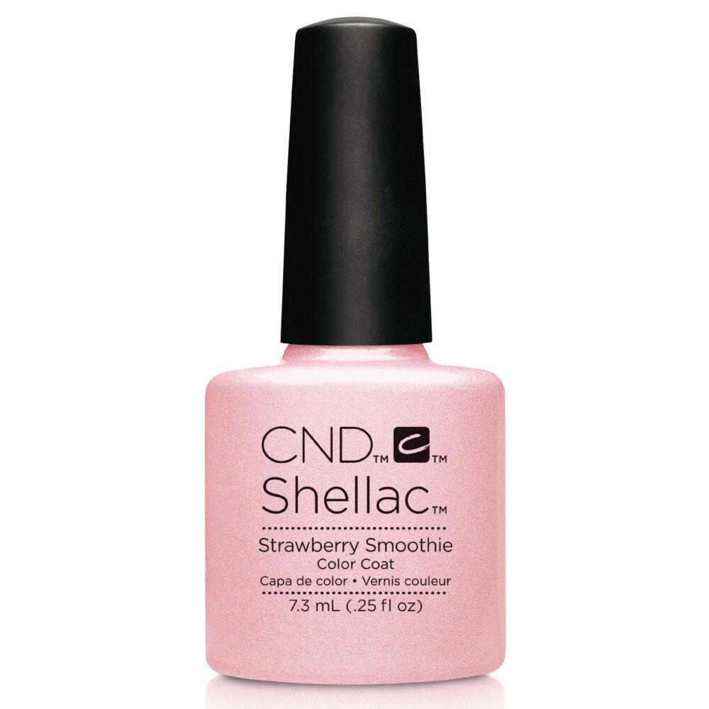 CND Shellac Strawberry Smoothie