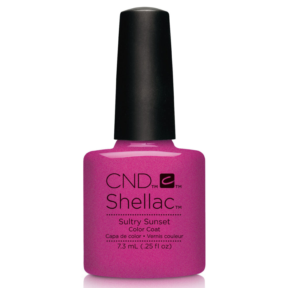 CND Shellac Sultry Sunset
