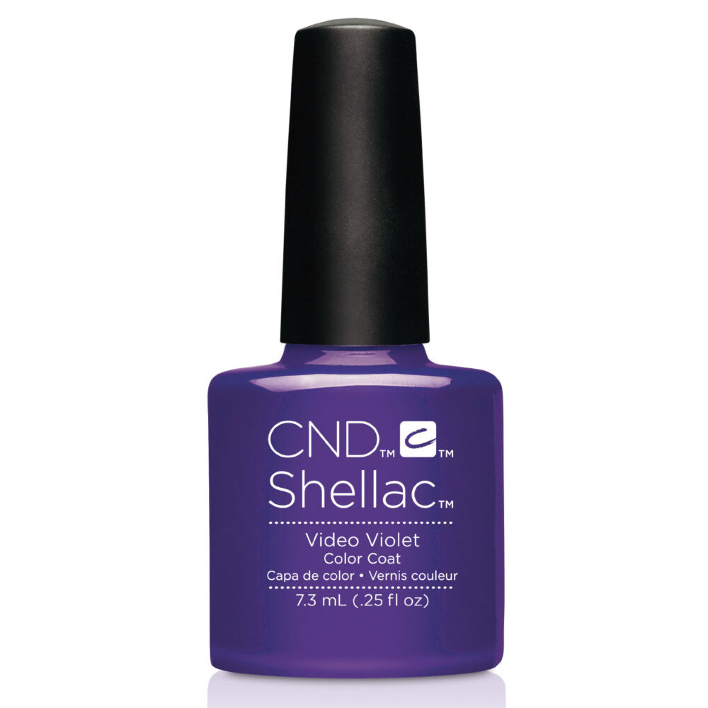 CND Shellac Video Violet