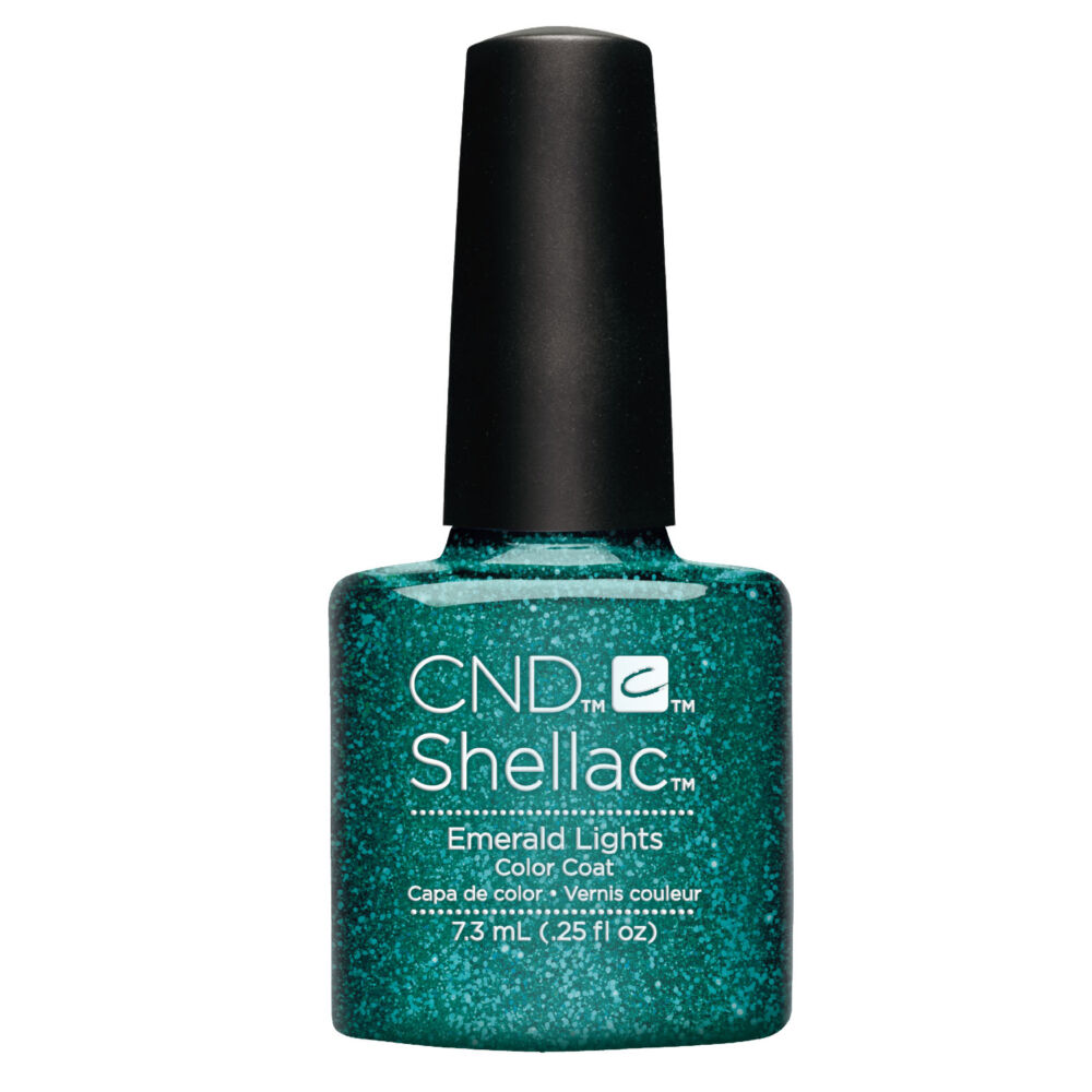 CND Shellac Emerald Lights