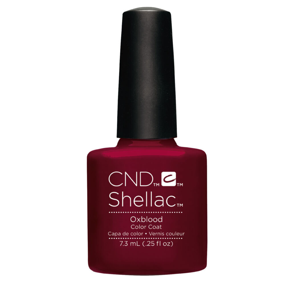 CND Shellac Oxblood