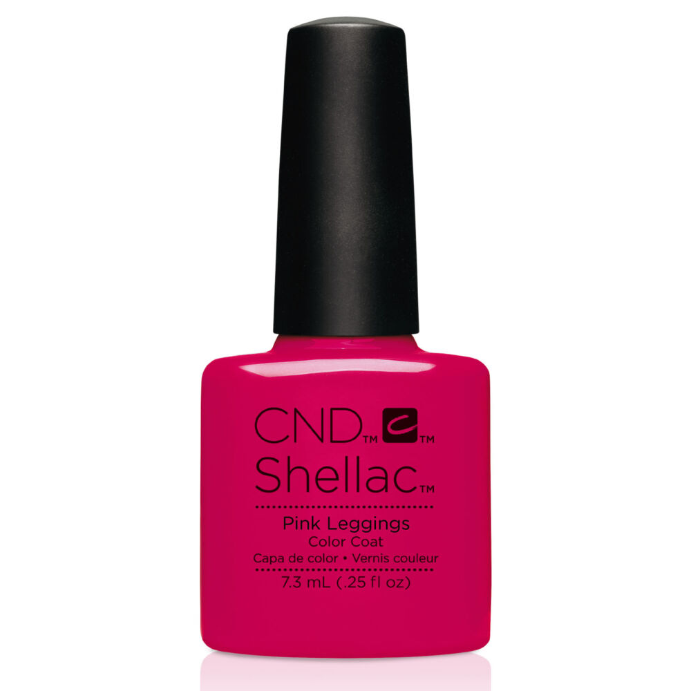 CND SHELLAC Pink Leggings