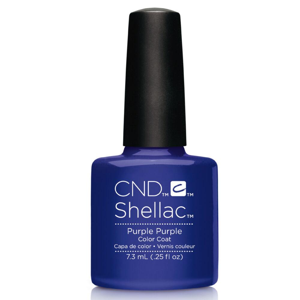 CND Shellac Purple Purple