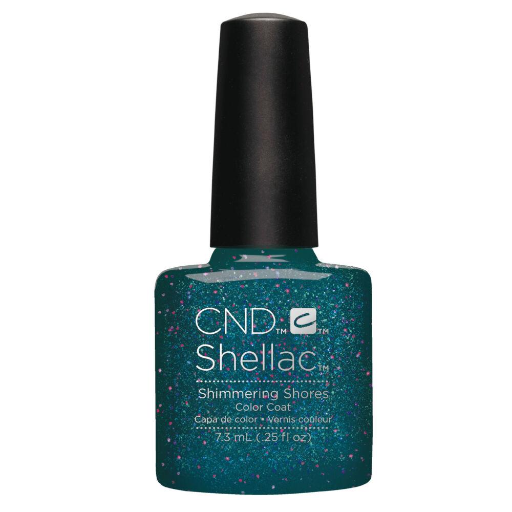 CND Shellac Shimmering Shores