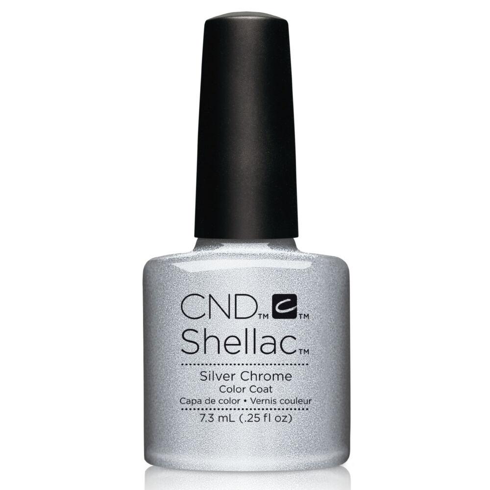 CND Shellac Silver Chrome