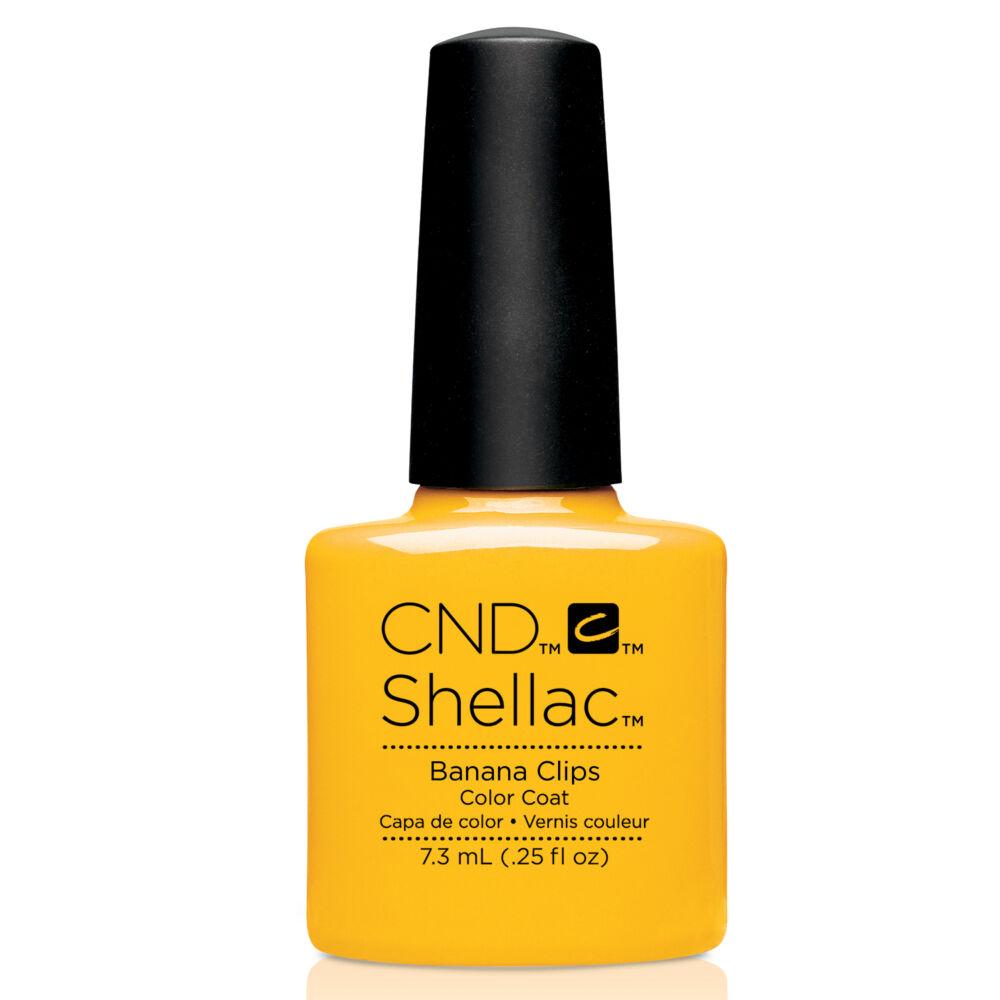 CND Shellac Banana clips