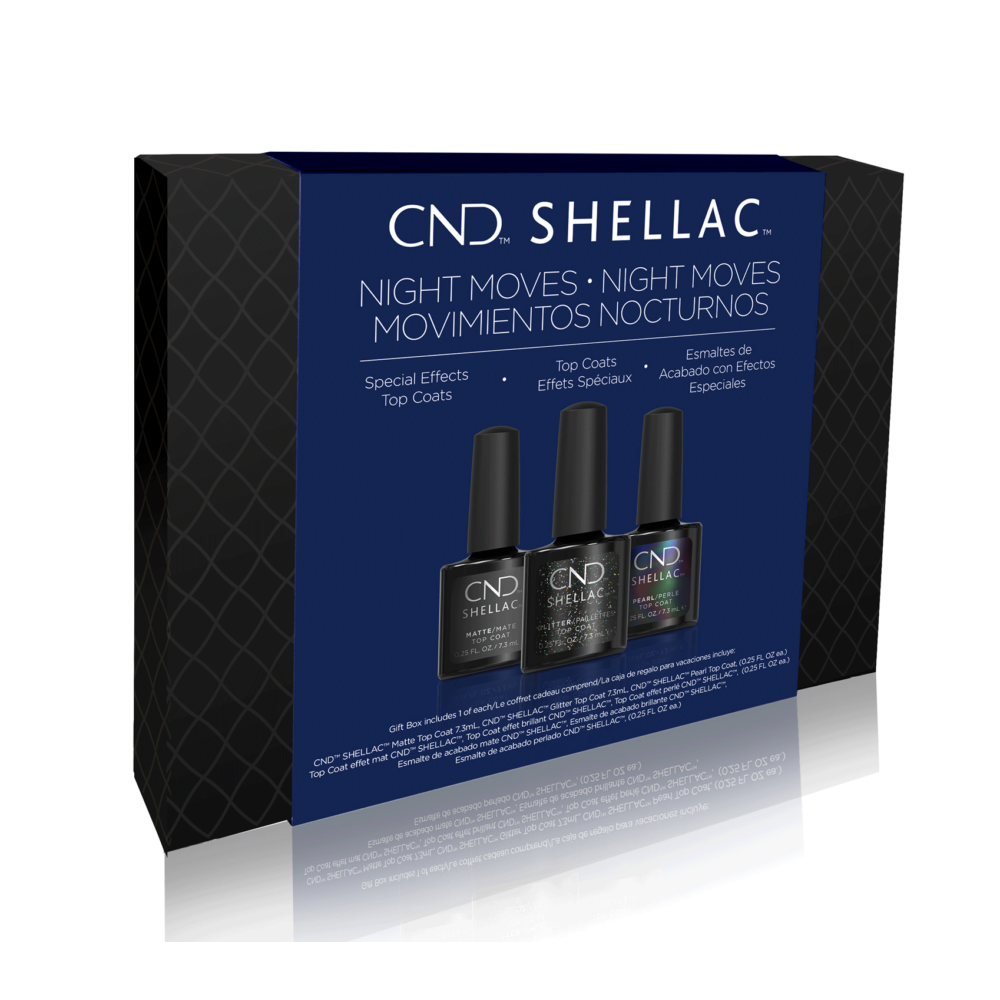 CND Shellac Night Moves - Top Coat kollekció