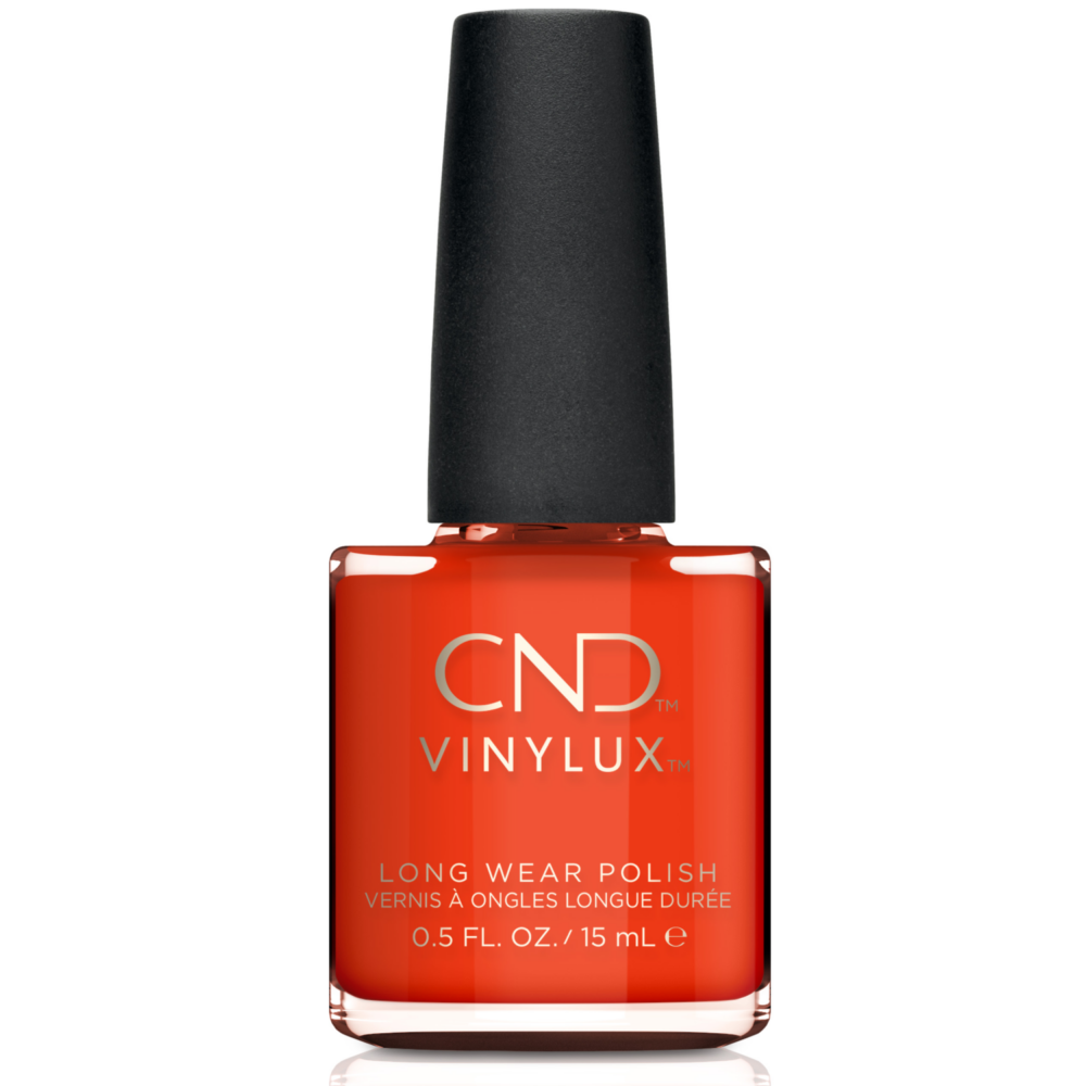 CND Vinylux tartós körömlakk Electric Orange #112