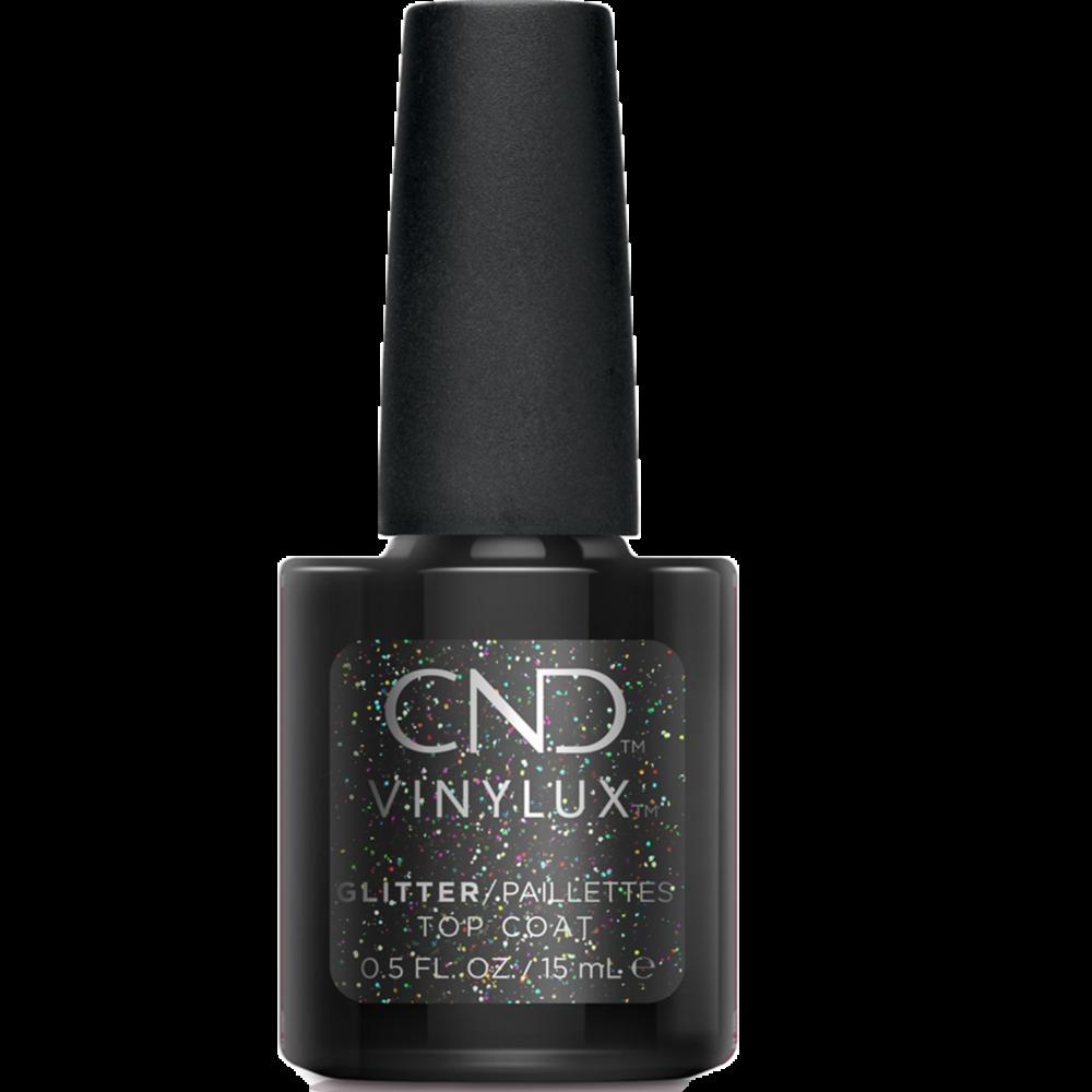 CND Vinylux Glitter Effect Top Coat fedőlakk