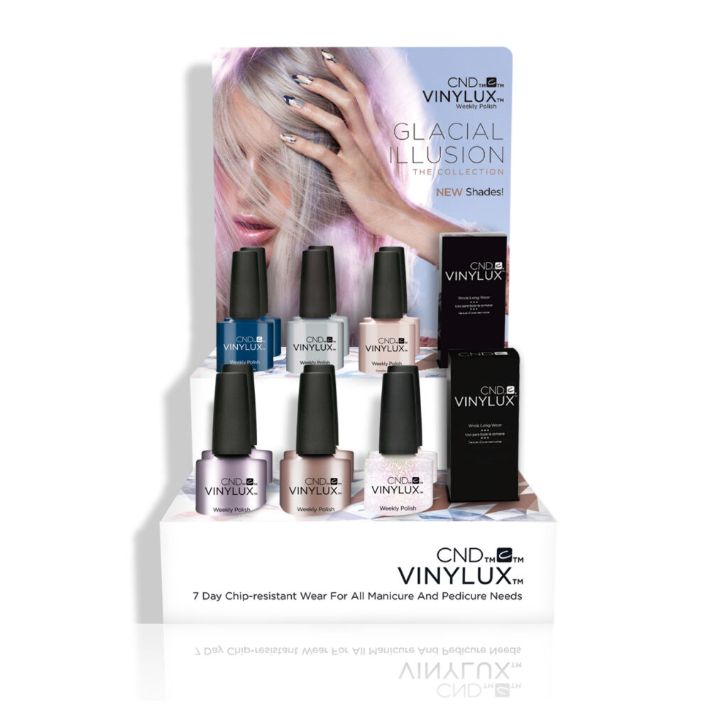 CND Vinylux Glacial Illusion Display