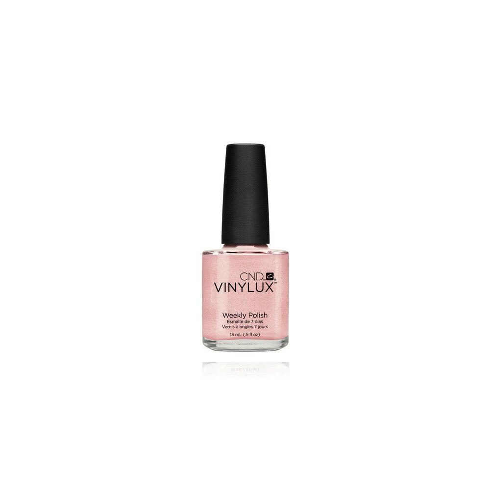 CND Vinylux Grapefruit Sparkle #118