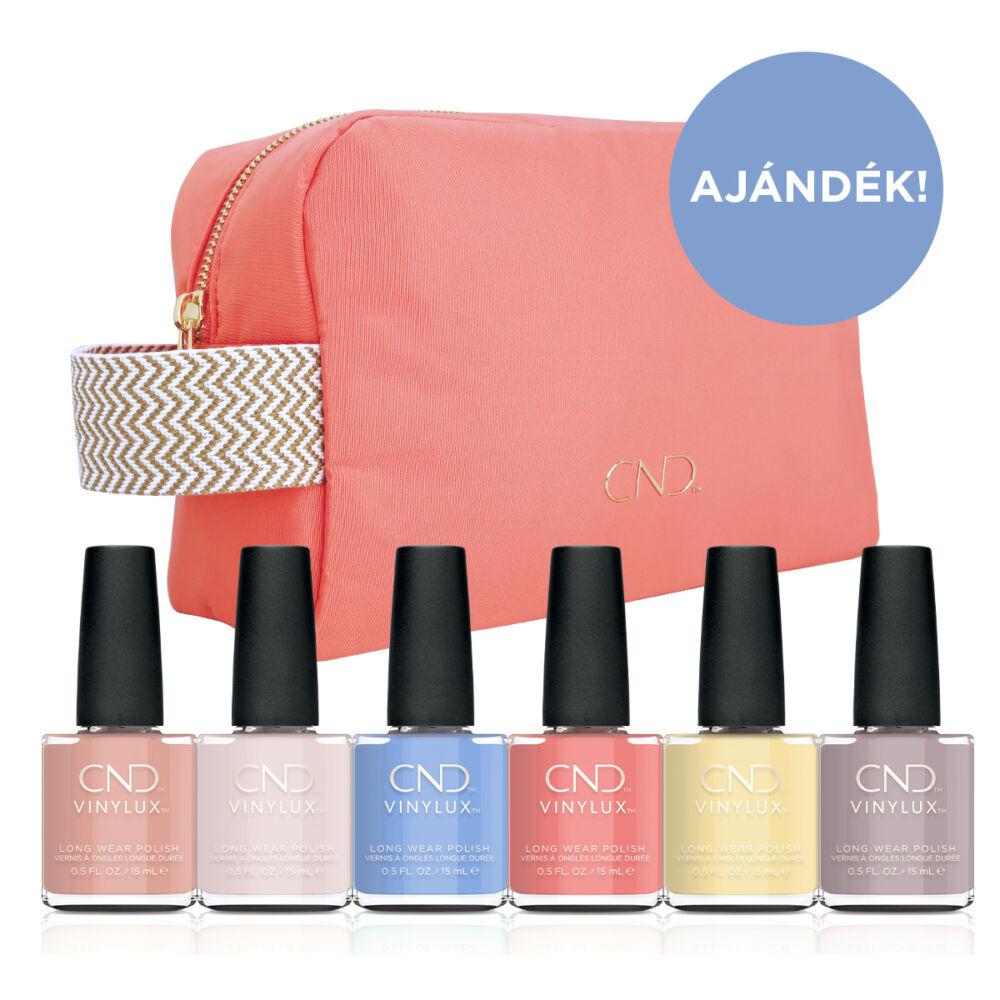 The Colors of You VINYLUX szett ajándék tavaszi kozmetikai táskával