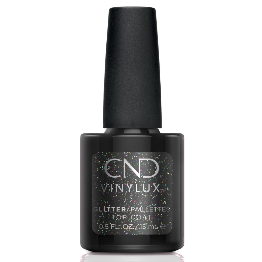 CND Vinylux Glitter Effect Top Coat