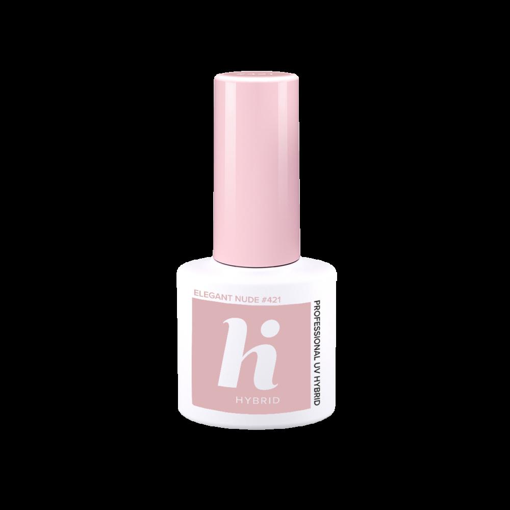 Hi Hybrid gél lakk Elegant Nude #421