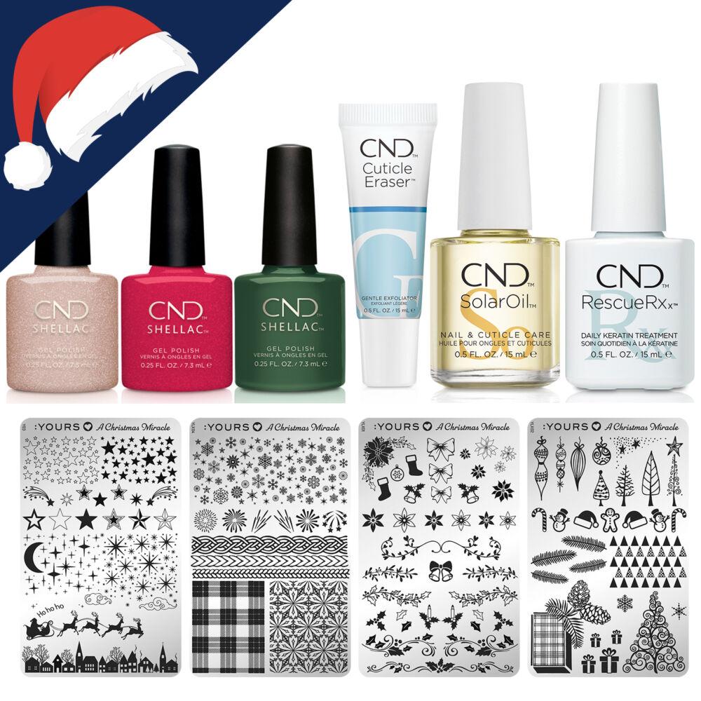 CND Shellac Karácsonyi csomag - LIMITÁLT