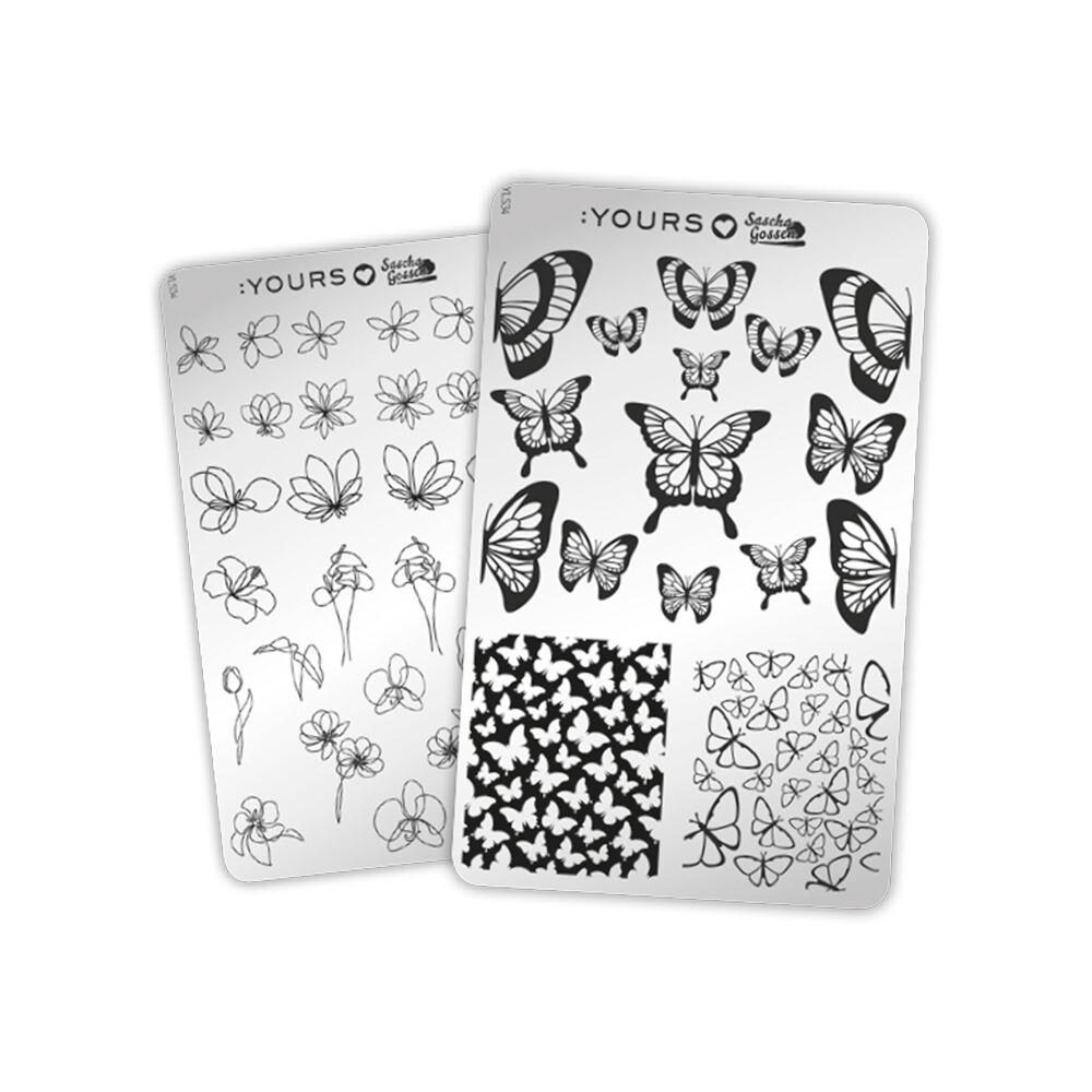 :YOURS Loves Sascha – Butterfly Garden (kétoldalú nyomdalemez)
