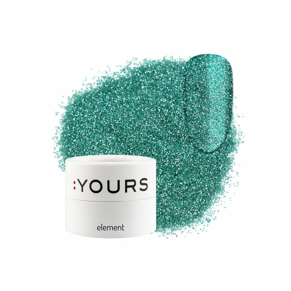 :YOURS Element Eco Glitter – Turquoise Beauty