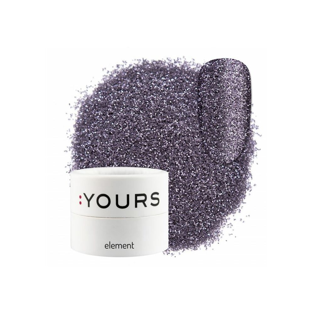 :YOURS Element Eco Glitter – Violet Mystery