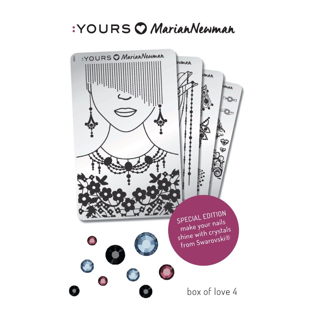 :YOURS Loves Marian – Box of Love 4, ajándék Swarovski kristállyal