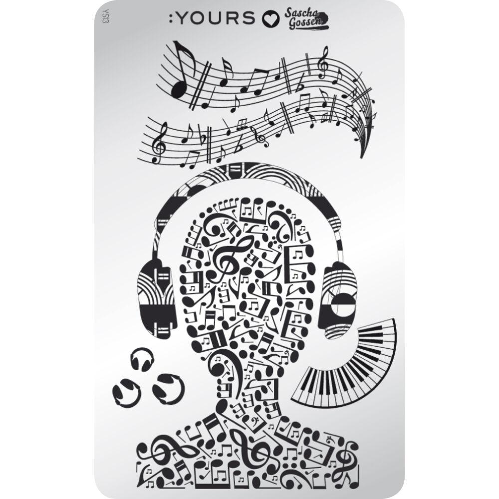 :YOURS Make the Music nyomdalemez