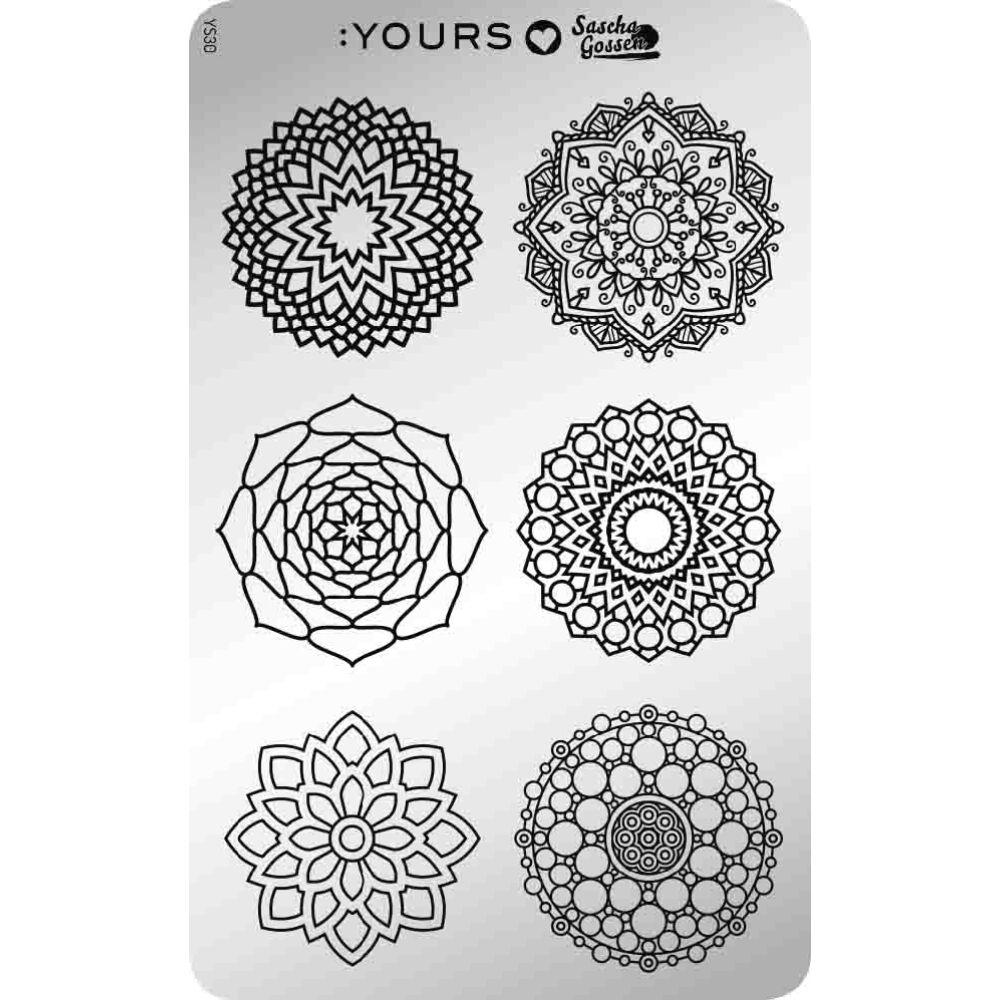 :YOURS Mandala Mania nyomdalemez