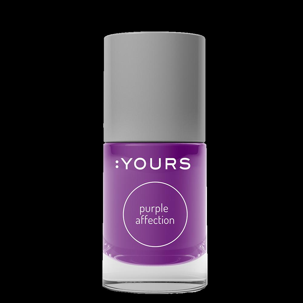 :YOURS Purple Affection nyomdalakk