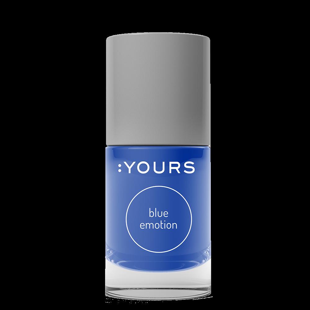 :YOURS Blue Emotion nyomdalakk
